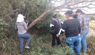Colectivos enter without permission of FGR to extermination center in Tamaulipas