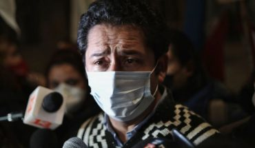 """Diego Ancalao: """"We have not been able to locate the people in charge of collecting the signatures"""""""