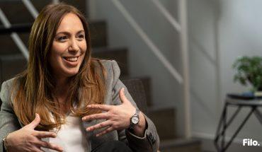 Filo.elecciones│María Eugenia Vidal confessed that she began to listen to L-Gante for CFK