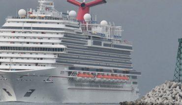 Finally!, the Carnival Panorama cruise arrives in Mazatlan