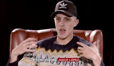 """Joaco López in Seres Libres: """"If I didn't have drugs on the weekend I would get grumpy"""""""