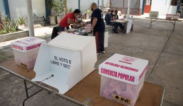 The day of popular consultation concludes, INE begins with the counting of votes