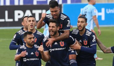 Universidad de Chile reaches La Calera at the top of the tournament after beating O'higgins in Rancagua