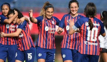 Women's football: San Lorenzo won and stayed with the top of zone A