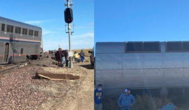 3 personas murieron ras descarrilarse tren en Montana, USA