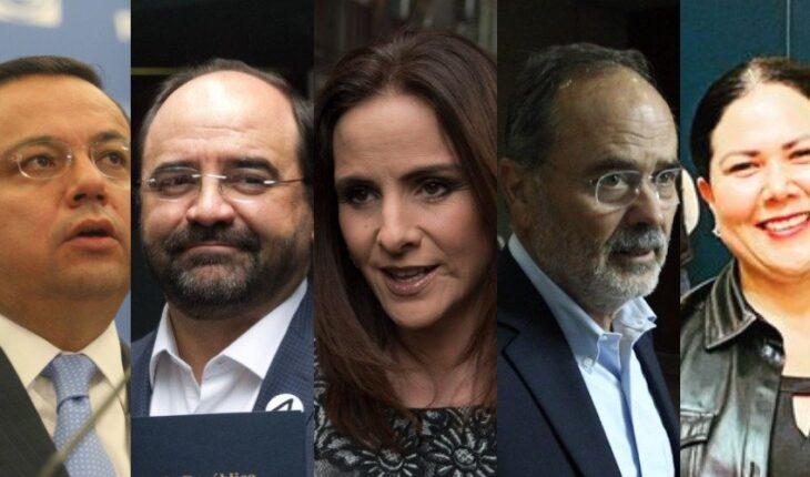 5 senadores dejan Morena, PAN y PT para crear otro grupo parlamentario