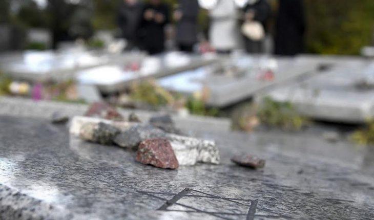 AMIA condena un nuevo acto de vandalismo en el cementerio de Tablada