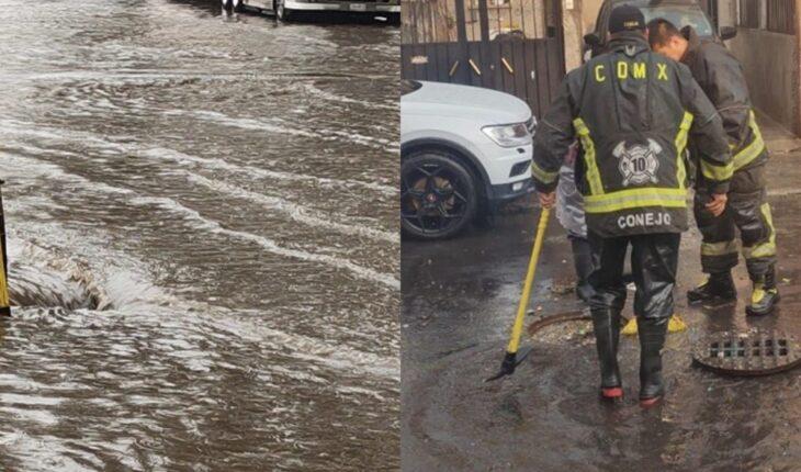 Activan por lluvias fuertes Alerta Amarilla en toda la CDMX