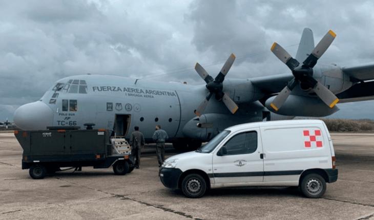 Argentina envió ayuda humanitaria a Cuba para enfrentar la pandemia
