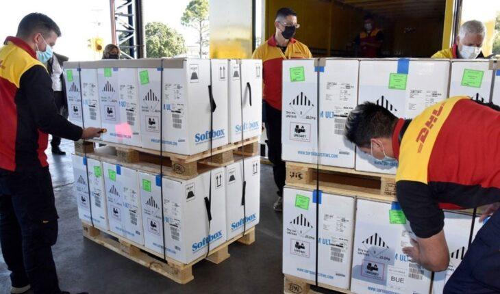 Argentina recibió 160.290 dosis de Pfizer y se cumplió la previsión para este mes