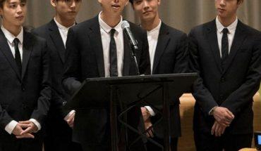 Así fue el primer discurso que dio RM de BTS en la ONU