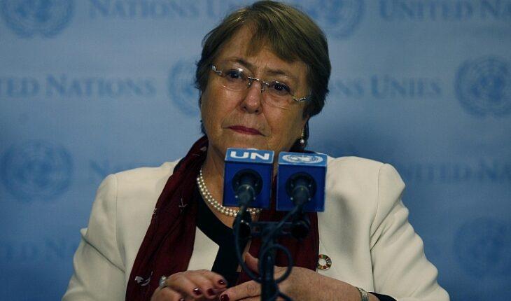 """Bachelet advierte de la desigualdad """"impactante"""" causada por la pandemia"""