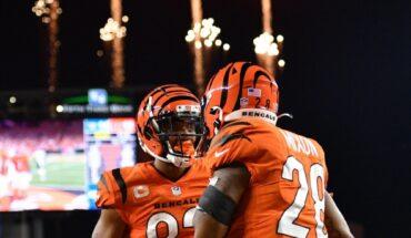 Bengalís se impuso a Jaguares en la última jugada en NFL