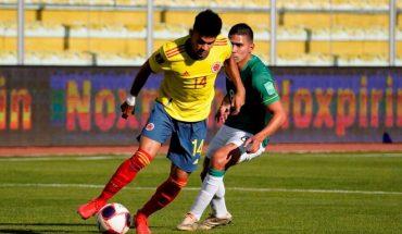 Bolivia y Colombia empataron 1-1 en La Paz