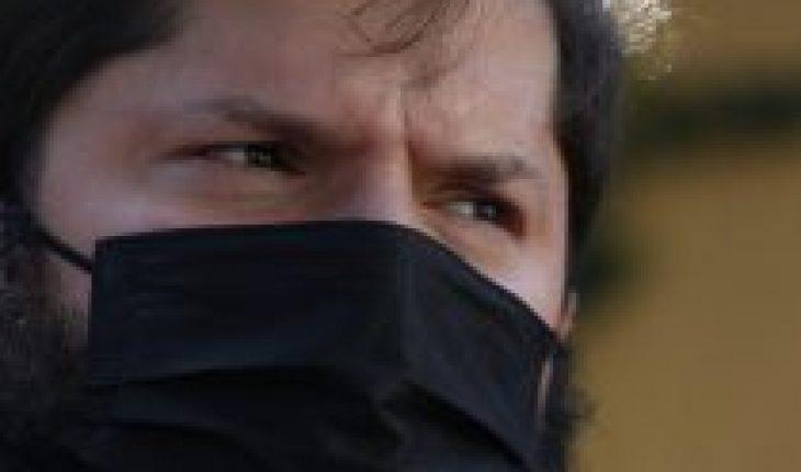 Boric en picada contra Sichel: «a mí me eligió el pueblo de Chile y a él, el Presidente Sebastián Piñera»
