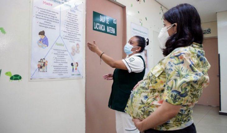 Casos de COVID en embarazadas crecen 61% en un mes
