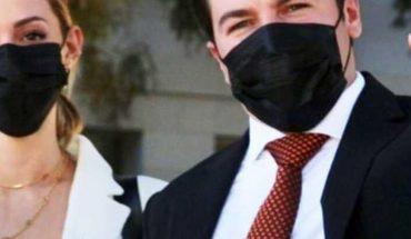 Celebran Samuel García y Mariana revocación de multa del INE