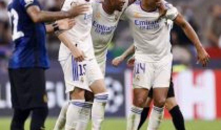Champions League: el Real Madrid salva el honor español y el PSG estrena tridente sin éxito