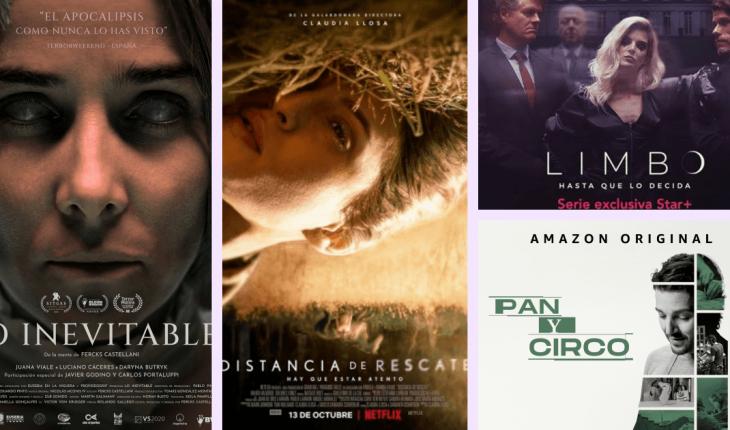Cine y series: lo que se viene para octubre