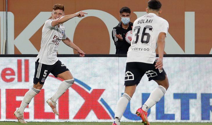 Colo Colo volvió a derrotar a Everton y se escapó en la cima de la tabla