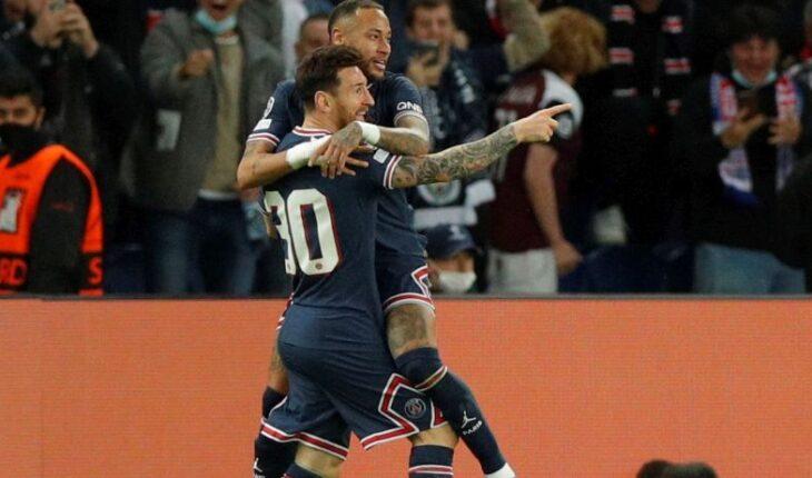 Con gol de Messi el PSG derrotó 2-0 al Manchester City