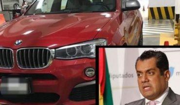 "Diputado Sergio Gutiérrez asegura que su BMW de lujo ""está viejito"""