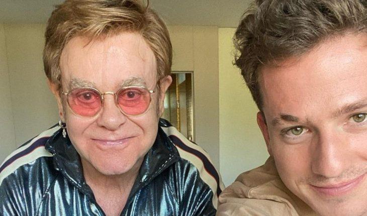 "Elton John estrenó ""After All"" junto a Charlie Put"