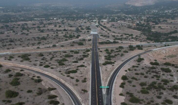 Entregan carretera; bajará tiempo aeropuerto Felipe Ángeles