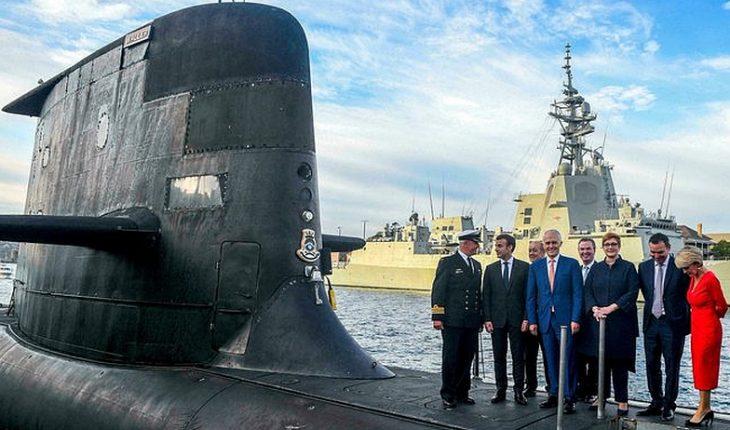"""Escala tensión de Francia con Estados Unidos y Australia por la """"traición de los submarinos"""""""