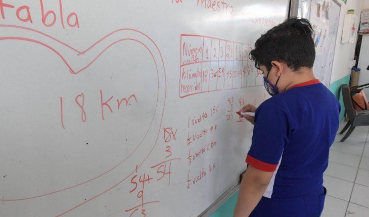 Escuelas presenciales del sur de Sinaloa, sin Covid-19