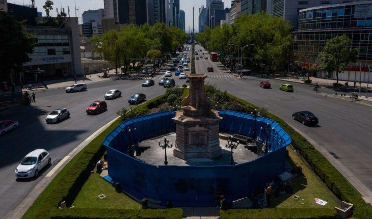 Escultura de mujer indígena sustituirá a Colón sobre Paseo de la Reforma
