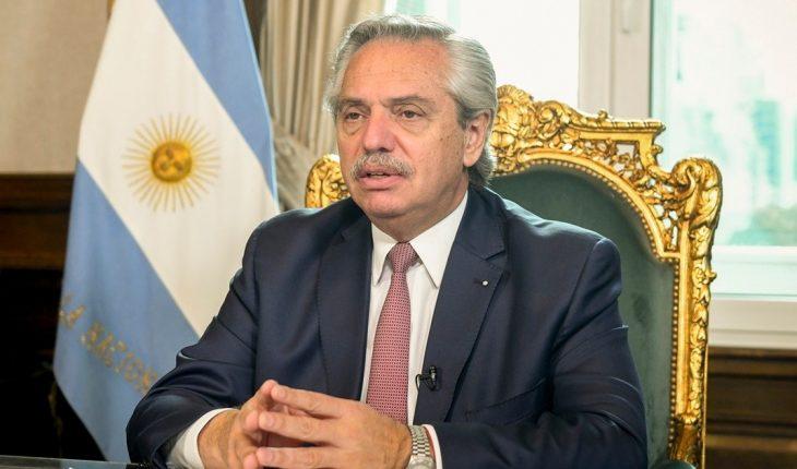 """Fernández: los """"99 días de normalidad"""" y la """"crisis que generó el gobierno anterior"""""""