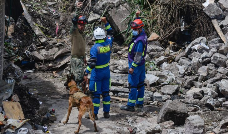 Hallan restos de menor desaparecido en el Cerro del Chiquihuite