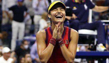 """Histórica: Emman Raducanu gana el US Open con 18 años y desde la """"qualy"""" sin perder un solo set"""
