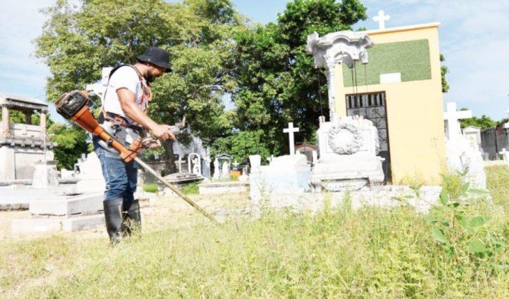 Inicia limpieza de los panteones municipales de Mazatlán