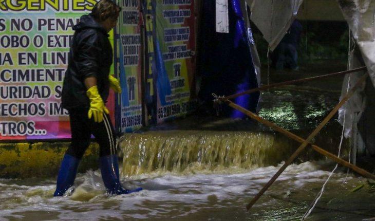 Inundaciones en Ecatepec dejan dos muertos; hay 19 colonias afectadas