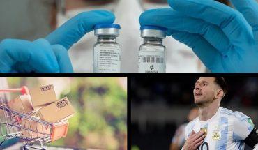"""La vacuna argentina CoroVaxG.3 superó los ensayos preclínicos y entró a Fase 1; Wado de Pedro: """"Vayan tranquilos a votar, no es una actividad riesgosa""""; La Ley de Góndolas se aplicará también al comercio electrónico; Día Mundial de la Prevención del Suicidio: ¿qué estamos haciendo para poner un freno?; y más..."""