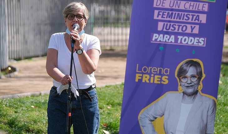 Lorena Fries lanzó su candidatura a diputada por el distrito 10