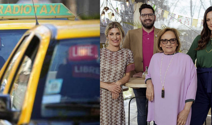 Los taxistas estallaron de furia contra Bake Off tras la eliminación de Gabriel