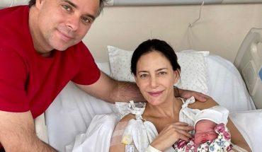 Luciana Aymar fue madre por segunda vez