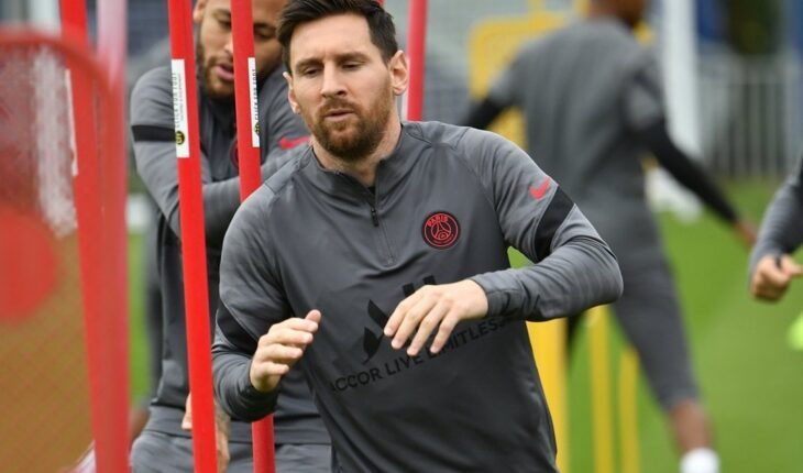Messi avanza en su recuperación y volvería ante Manchester City