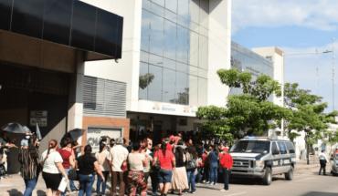 Protestas en cobro de becas Benito Juárez en Culiacán