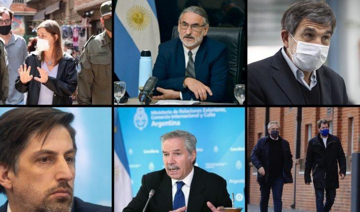 Quiénes son los funcionarios que salen del gabinete de Fernández y por qué