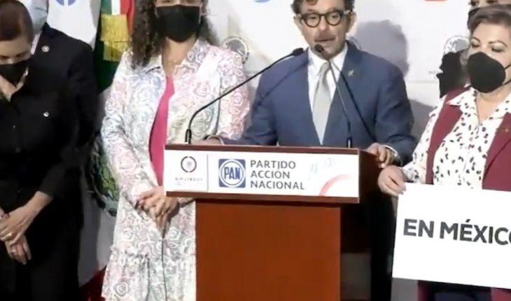 Reprocha el PAN a AMLO visita de Díaz-Canel y Maduro