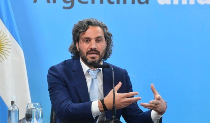 """Santiago Cafiero: """"Me propongo hablar con todos mis colegas del mundo, sin exclusiones"""""""