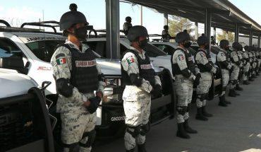 Solo 5 de 32 generales de la Guardia Nacional, capacitados como policías