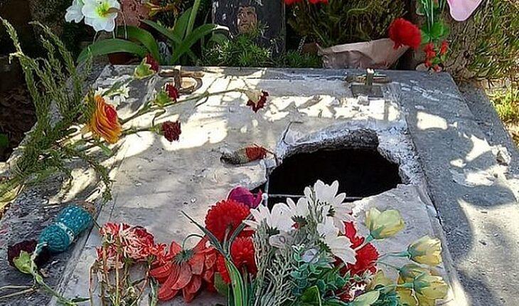 Vandalizan tumba de Víctor Jara en el Cementerio General