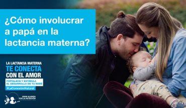 ¿Cómo la familia puede apoyar a la madre con la lactancia materna?
