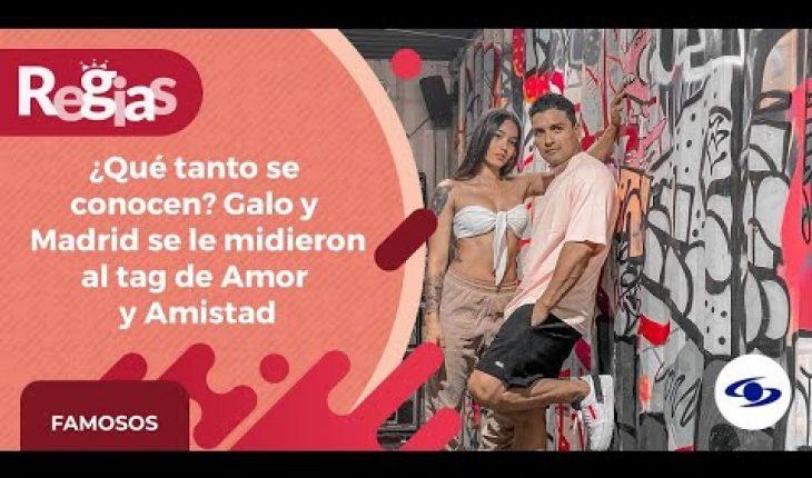 Así fue como inició la historia de amor de Madrid y Galo, del Desafío The Box