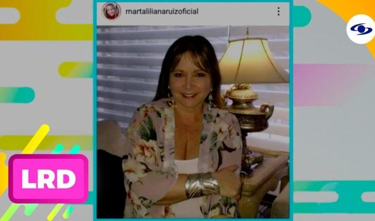 La Red: Marta Liliana Ruiz reaparece en La Red tras perder 5 cms de lengua a causa del cáncer
